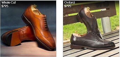 Made-To-Order Shoes
