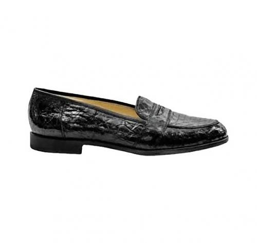Genuine <br/>Crocodile <br>Black