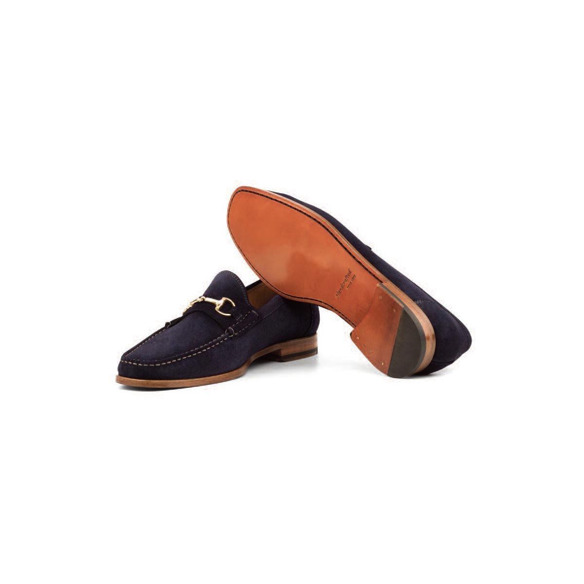 Navy Suede - Moccasin
