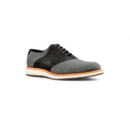 Black <br>Nubuck & Black <br>Leather