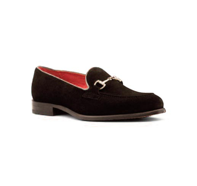 Black/Grey - Swivel Loafer
