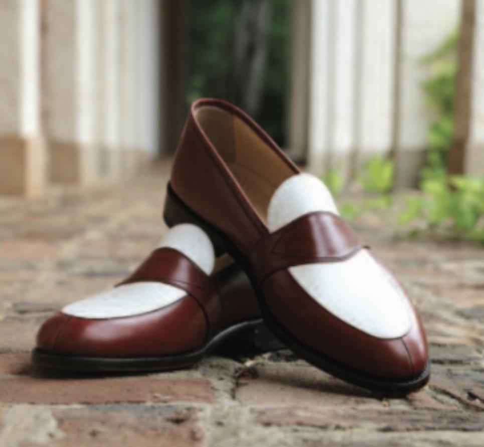 Russo / White Leather - Savannah Charleston