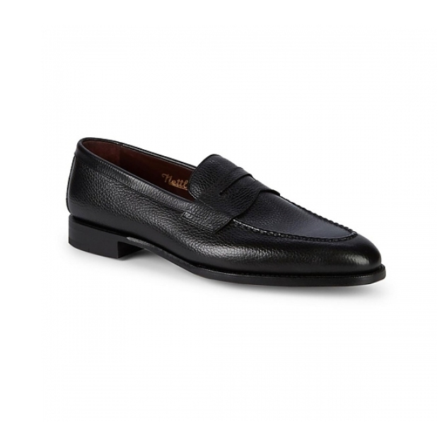 Black - The English Loafer