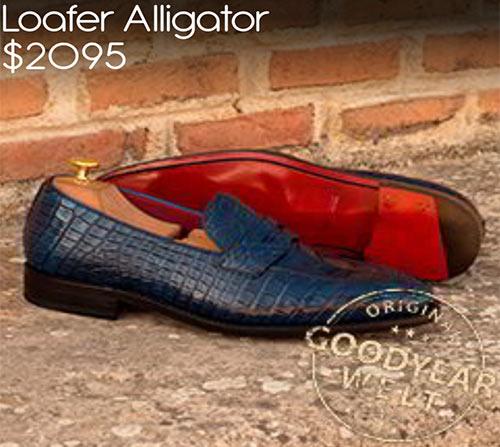 - Loafer Alligator