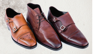 three different Nettleton Shoes